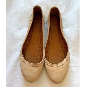 Frye Carrie Ballet Leather Flat Women's Size 8.5